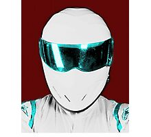 Top Gear Inspired Pop Art The Stig Photographic Print