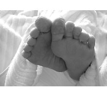 Wrinkly Toes Photographic Print