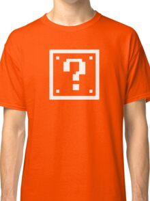 Question Mark Block Classic T-Shirt