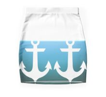 Anchors Ahoy! Mini Skirt