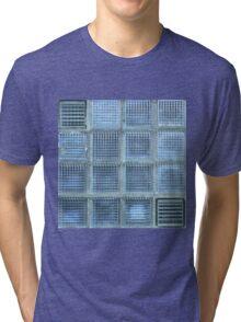 Blue Cube Tri-blend T-Shirt