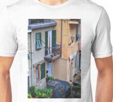 Cinque Terre Balcony Unisex T-Shirt