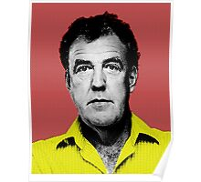 Top Gear Inspired Pop Art, Jeremy Clarkson Poster