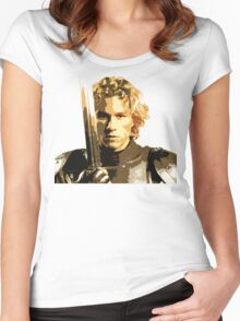 A knight's Tale Heath Ledger Women's Fitted Scoop T-Shirt