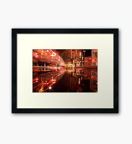 science non-fiction Framed Print