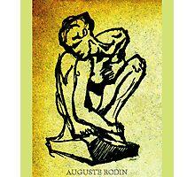 Rodin - Crouching Woman Photographic Print