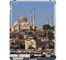 Suleymaniye Mosque in Istanbul iPad Case/Skin