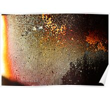 sunset at the fire place Poster