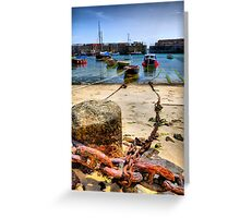 Shackled Greeting Card