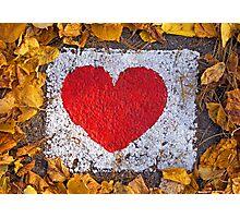 Unbroken heart Photographic Print
