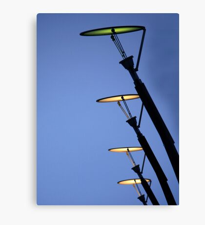 sci-fi lamps Canvas Print