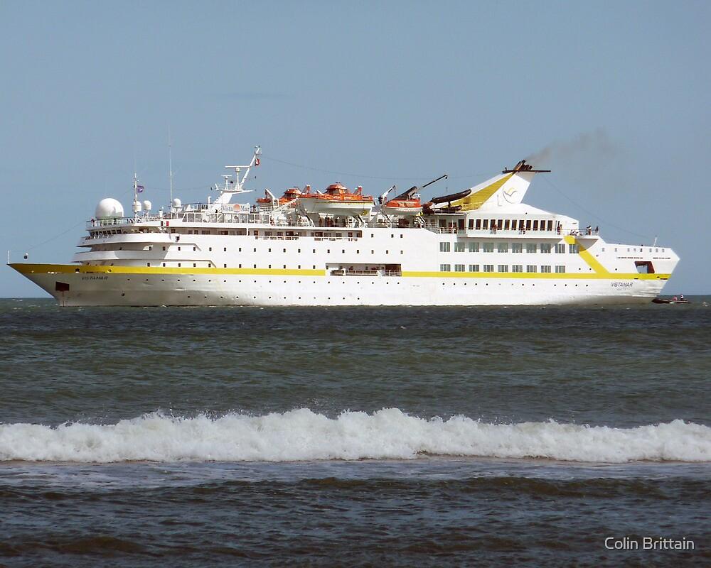 Cruise Liner Vistamar by Colin Brittain