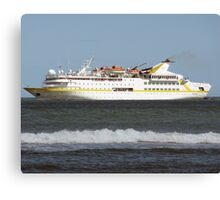 Cruise Liner Vistamar Canvas Print