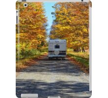 Driving in autumn colours iPad Case/Skin