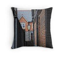 Modern and Old Throw Pillow