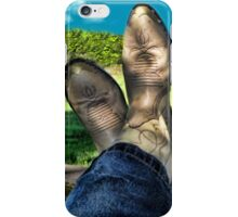 KICKIN BACK COUNTRY STYLE..JOURNAL--PICTURE-PILLOW-TOTE BAG ECT iPhone Case/Skin