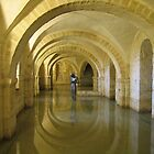 """""""Golden Echo"""" Winchester Cathedral Crypt by Stephanie McPollock"""