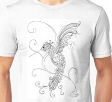 Humming Bird Zen Unisex T-Shirt