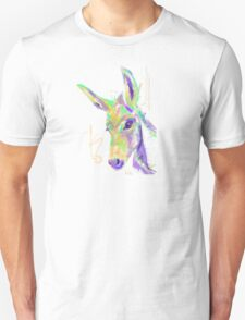 Cute t-shirt color donkey Unisex T-Shirt