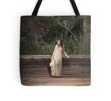 Vintage Girl Tote Bag