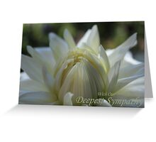 With Our Deepest Sympathy (Card) Greeting Card