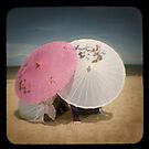 The pink parasol by ozzzywoman