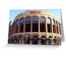 Citi Field Jackie Robinson Rotunda Entrance Greeting Card