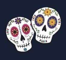 Sunshine Sugar Skulls Kids Tee