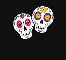 Sunshine Sugar Skulls Womens Fitted T-Shirt
