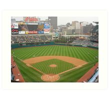 Jacobs Field, Home of the Cleveland Indians Art Print