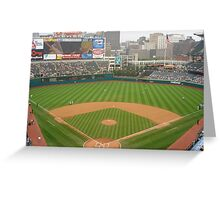 Jacobs Field, Home of the Cleveland Indians Greeting Card