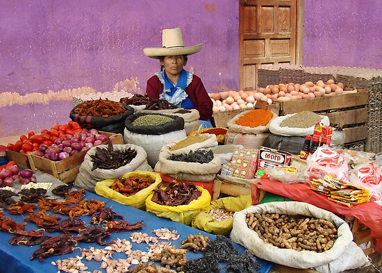 PEPPERS - PERU by Michael Sheridan
