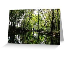 My Favorite Place Reflected Greeting Card