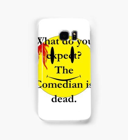 Watchmen, the comedian is dead Samsung Galaxy Case/Skin
