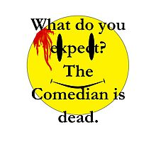 Watchmen, the comedian is dead Photographic Print