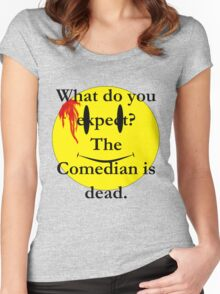 Watchmen, the comedian is dead Women's Fitted Scoop T-Shirt