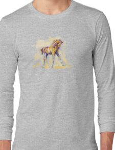 T-shirt foal grace and color Long Sleeve T-Shirt