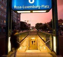 Berlin U-Bahn by Aaron Corr