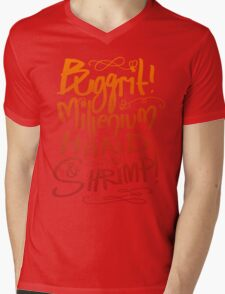 Buggrit Mens V-Neck T-Shirt