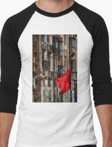 Aħmar Men's Baseball ¾ T-Shirt