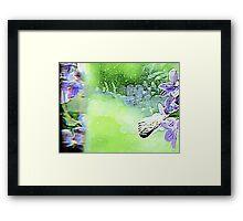 Floral Reflections Framed Print