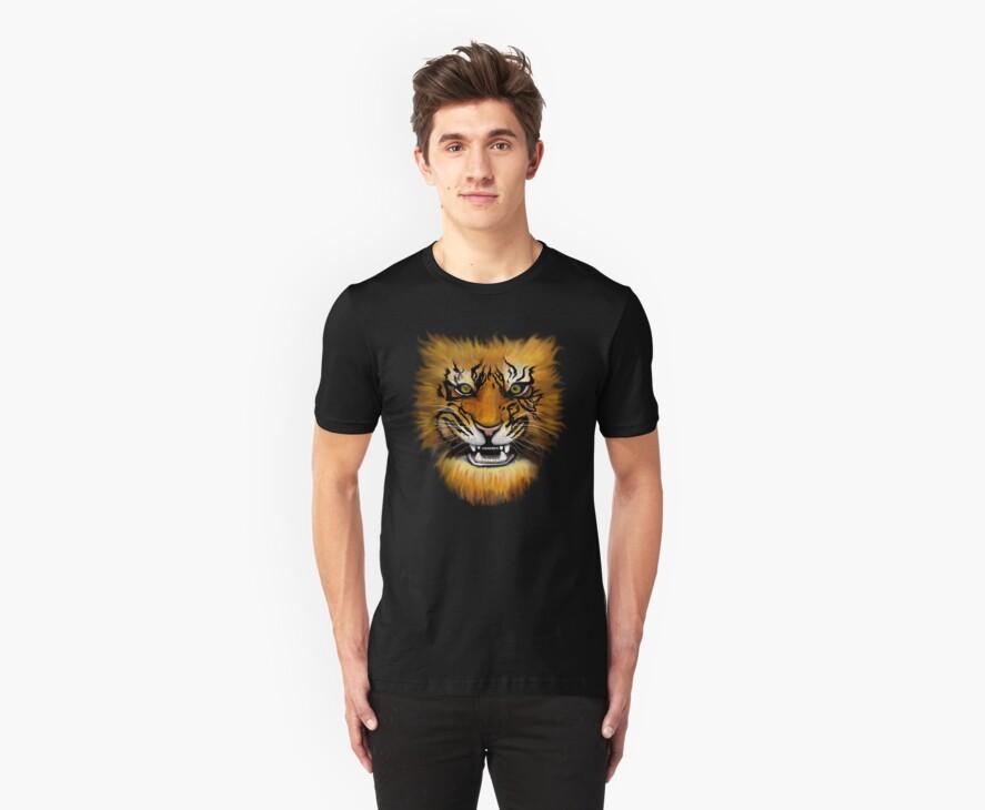 Fire Tiger! by weirdpuckett