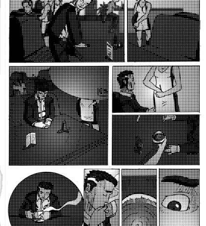 Comic Page Tee 1.01 Sticker