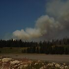 2009 fires at Yellowstone Park by Suescot