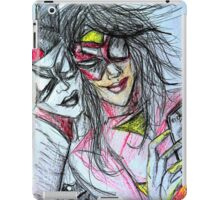 Harley Quinn with Spider Woman iPad Case/Skin