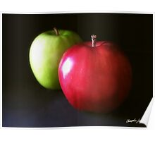 Red and Green Apples 3 Poster