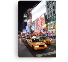 Time square madness Canvas Print