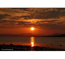 River Clyde Sunset Photographic Print