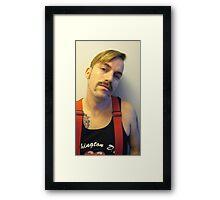 fireman 2 Framed Print