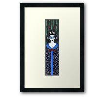 Geisha Goddess Framed Print